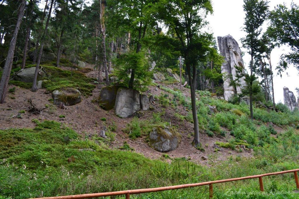 Czeski Raj - Prachowskie Skały (2)