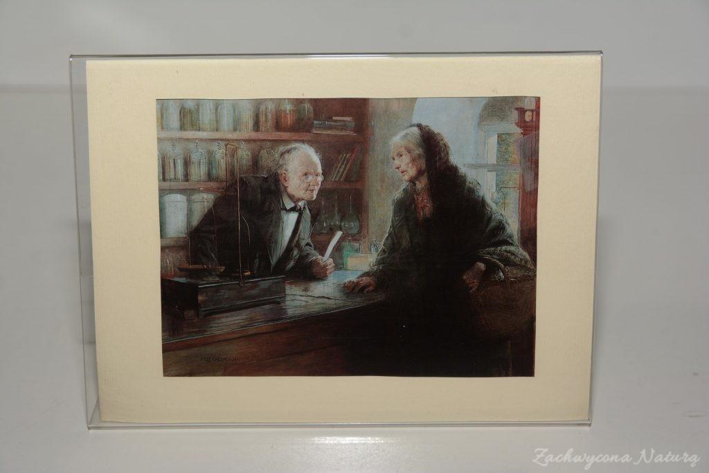 """Wzrusza mnie obraz Józefa Chełmońskiego """"Aptekarz""""- według mnie tak właśnie powinna wyglądać misja tego zawodu."""