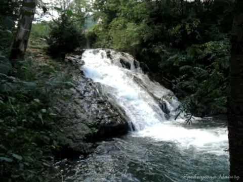 Wodospad w Sopotni Wielkiej w Beskidzie Żywieckim