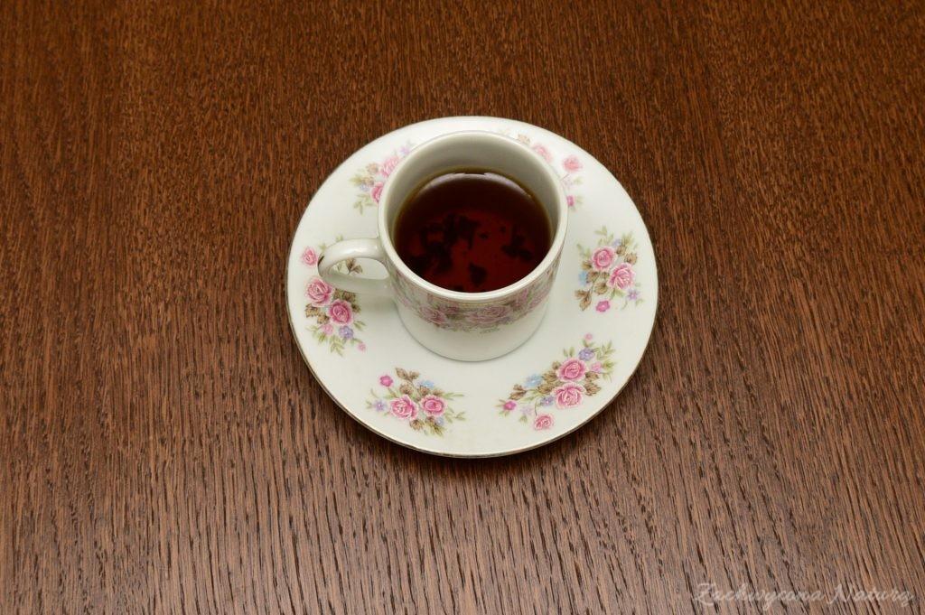 Herbata z fermentowanych liści poziomek