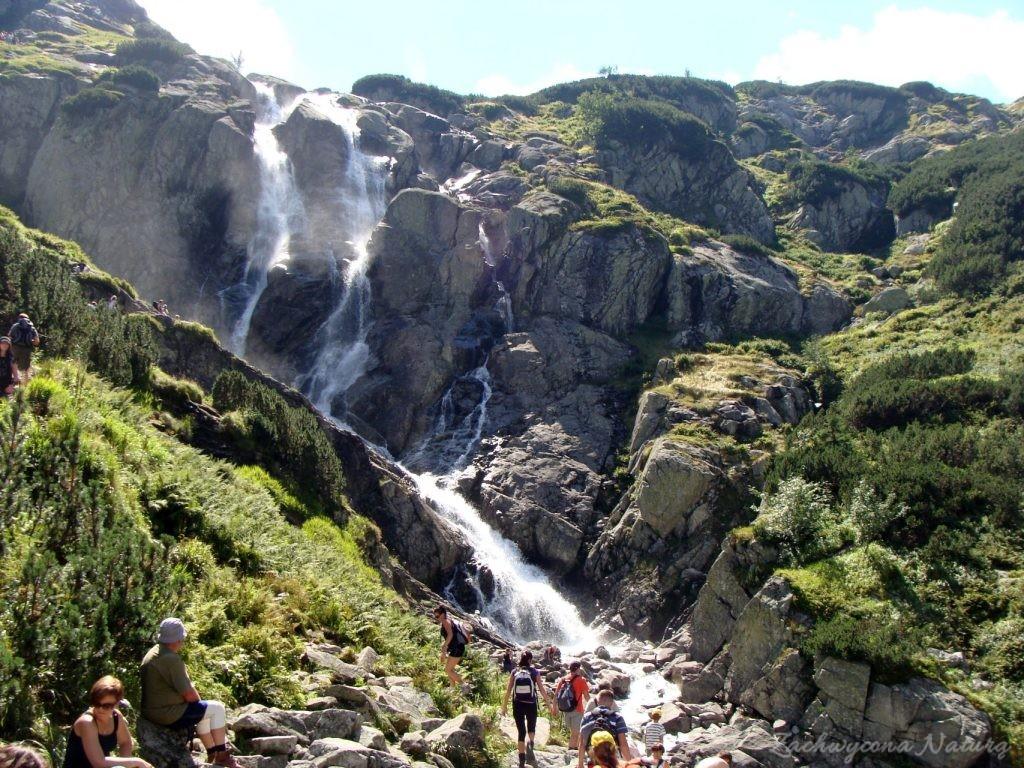 Siklawa - najwyższy polski wodospad (1)