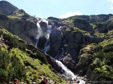 Siklawa - najwyższy polski wodospad (2)