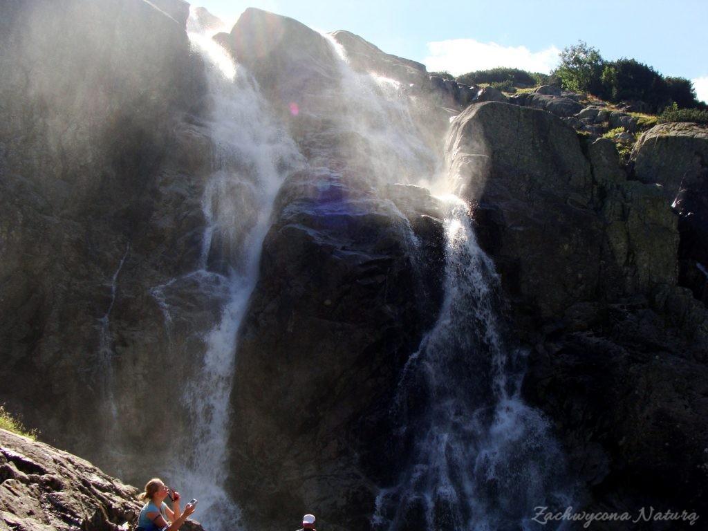 Siklawa - najwyższy polski wodospad (3)
