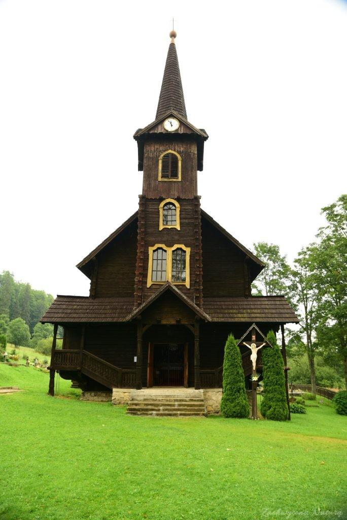 Kościółek Św Anny w Jaworzynie Tatrzańskiej