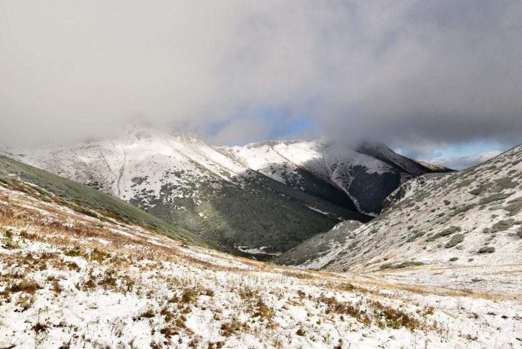 W poszukiwaniu jesieni, (a może zimy) w Tatrach Bielskich - tym razem dotarliśmy do Szerokiej Przełęczy (24)