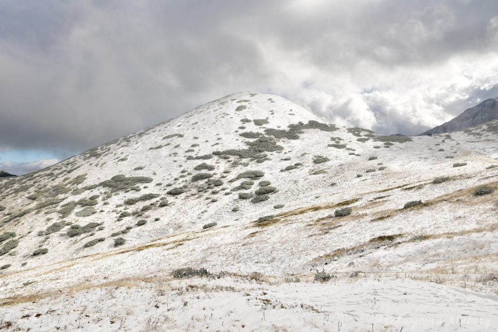 W poszukiwaniu jesieni, (a może zimy) w Tatrach Bielskich - tym razem dotarliśmy do Szerokiej Przełęczy (25)