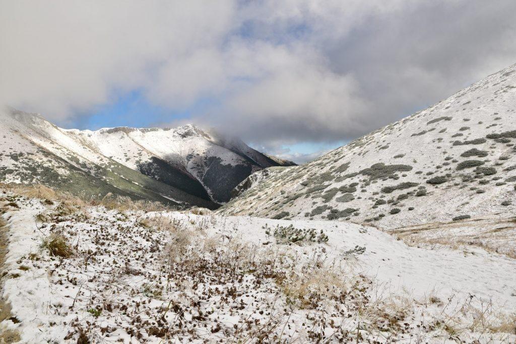 W poszukiwaniu jesieni, (a może zimy) w Tatrach Bielskich - tym razem dotarliśmy do Szerokiej Przełęczy (27)