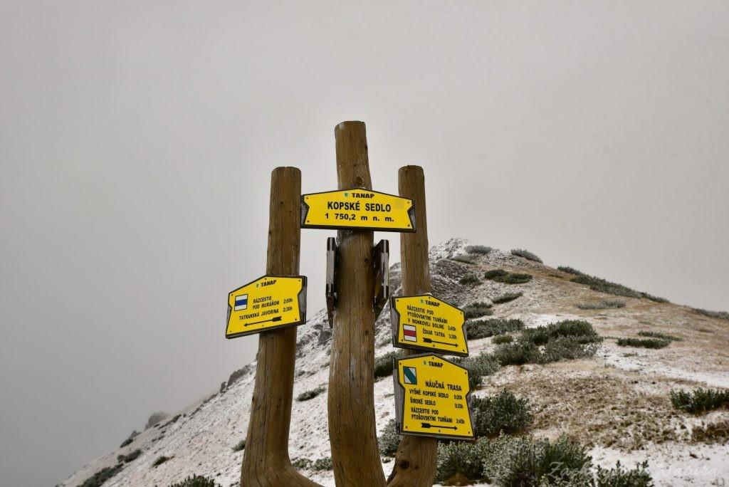W poszukiwaniu jesieni, (a może zimy) w Tatrach Bielskich - tym razem dotarliśmy do Szerokiej Przełęczy (28)