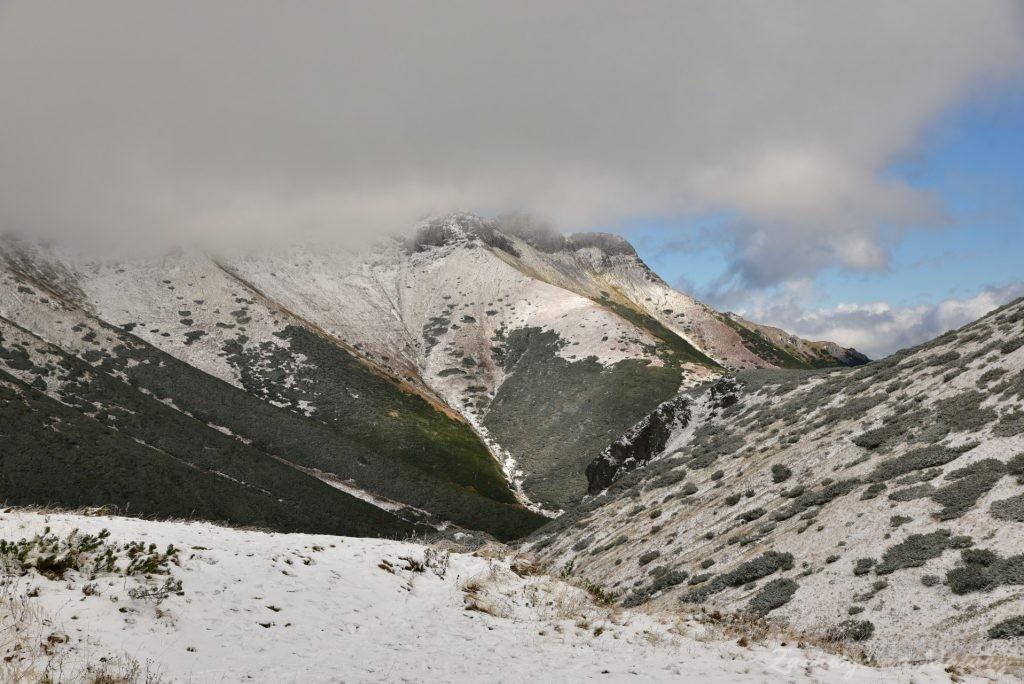 W poszukiwaniu jesieni, (a może zimy) w Tatrach Bielskich - tym razem dotarliśmy do Szerokiej Przełęczy (33)