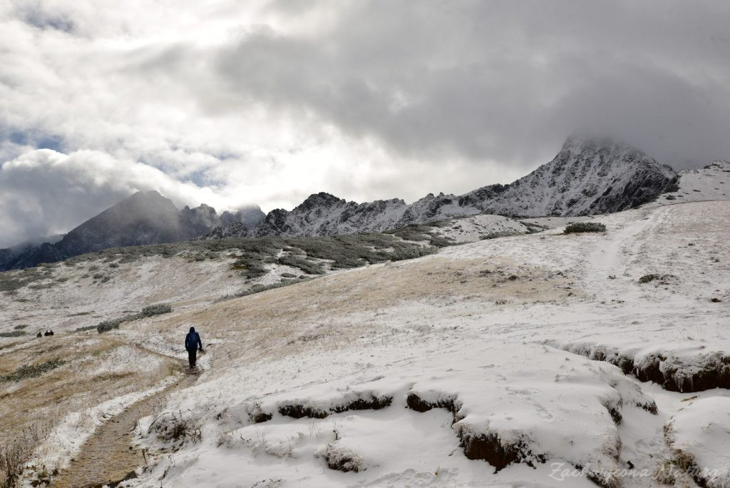 W poszukiwaniu jesieni, (a może zimy) w Tatrach Bielskich - tym razem dotarliśmy do Szerokiej Przełęczy (34)