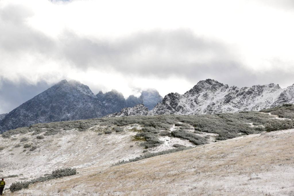 W poszukiwaniu jesieni, (a może zimy) w Tatrach Bielskich - tym razem dotarliśmy do Szerokiej Przełęczy (36)