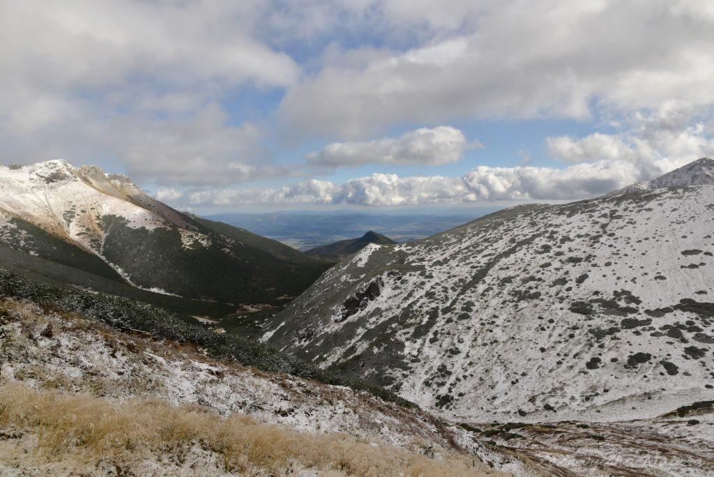 W poszukiwaniu jesieni, (a może zimy) w Tatrach Bielskich - tym razem dotarliśmy do Szerokiej Przełęczy (46)