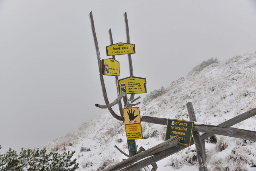 W poszukiwaniu jesieni, (a może zimy) w Tatrach Bielskich - tym razem dotarliśmy do Szerokiej Przełęczy (52)