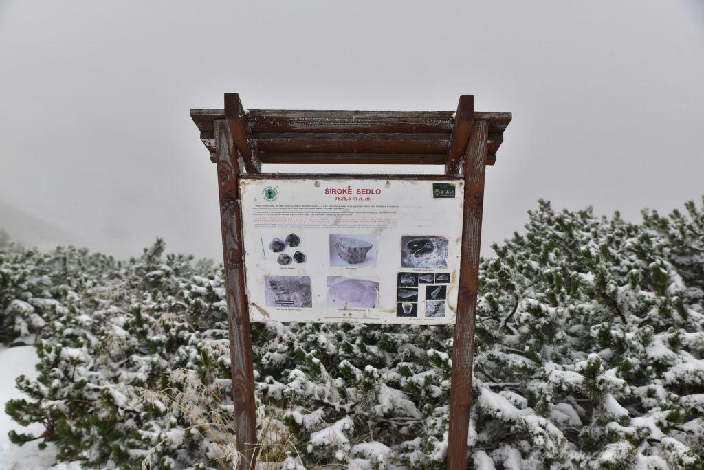 W poszukiwaniu jesieni, (a może zimy) w Tatrach Bielskich - tym razem dotarliśmy do Szerokiej Przełęczy (53)