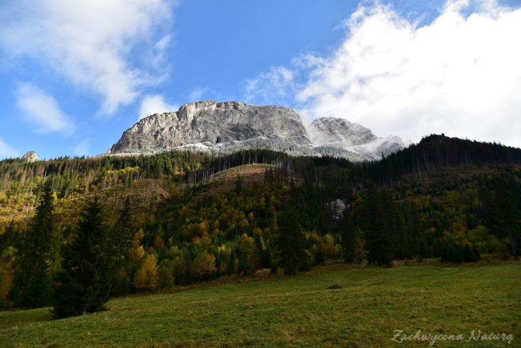 W poszukiwaniu jesieni, (a może zimy) w Tatrach Bielskich - tym razem dotarliśmy do Szerokiej Przełęczy (6)