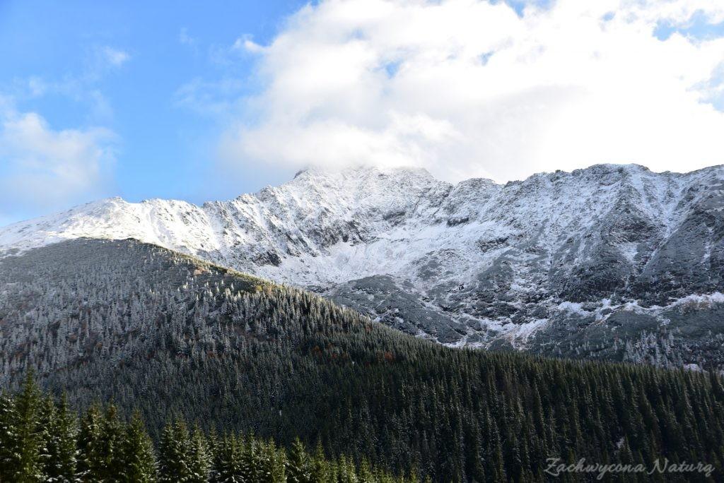 W poszukiwaniu jesieni, (a może zimy) w Tatrach Bielskich - tym razem dotarliśmy do Szerokiej Przełęczy (76)