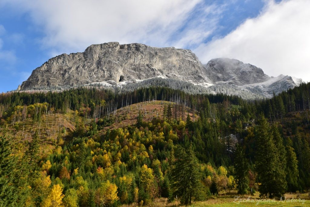 W poszukiwaniu jesieni, (a może zimy) w Tatrach Bielskich - tym razem dotarliśmy do Szerokiej Przełęczy (8)